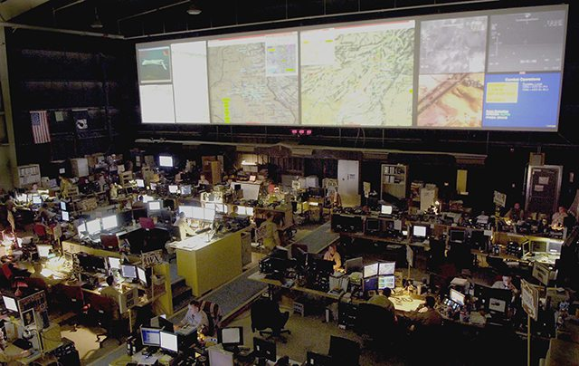 Command and control a 24/7 operation